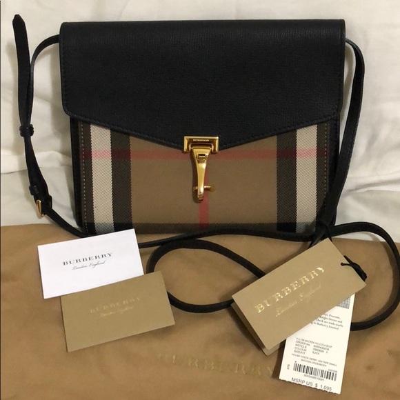 14ec5667bb82 Burberry Handbags - Authentic Burberry Small Macken Bag